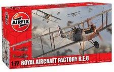 Военен самолет - Royal Aircraft Factory R.E.8 - Сглобяем авиомодел -