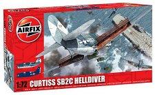 Военен самолет - Curtiss SB2C Helldiver - Сглобяем авиомодел - продукт
