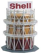Резервоар за гориво - Shell - Сглобяем модел -