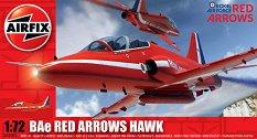 Изтребител - BAe Red Arrows Hawk - Сглобяем авиомодел - макет