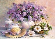 Денят на цветята - пъзел