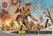 Британски пехотинци от Първата световна война -