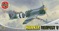 Изтребител - Hawker Tempest V - Сглобяем авиомодел - макет