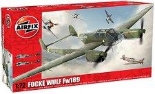 Военен самолет - Focke Wulf Fw189 - Сглобяем авиомодел -