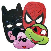 Комплект карнавални маски - Парти аксесоари -