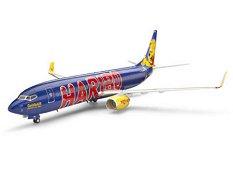 "Пътнически самолет - Боинг 737-800 TUIfly ""GoldbAIR"" - Сглобяем авиомодел - макет"
