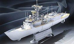 Военен кораб - USS Reuben James FFG-57 - Сглобяем модел -