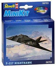 Военен самолет - F-117 Nighthawk - макет