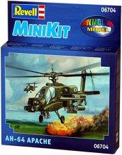 Военен хеликоптер - AH-64 Apache - макет