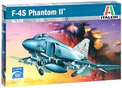 Военен самолет - F-4S Phantom II - Сглобяем авиомодел - макет