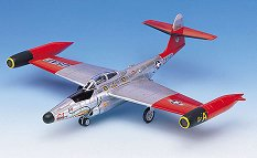 Военен самолет - F-89D Scorpion - Сглобяем авиомодел -