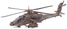 Военен хеликоптер - AH-64A Apache - Сглобяем авиомодел - макет