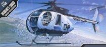 Полицейски хеликоптер - Hughes 500D - макет