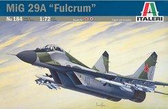 Военен самолет - МиГ-29A Fulcrum - Сглобяем авиомодел -