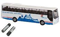 Автобус - Умален модел с писта -