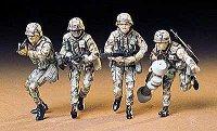 Войници от съвременна американска армия - Комплект от четири сглобяеми фигури -
