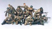 Войници от руската пехотна армия - Комплект сглобяеми фигури -