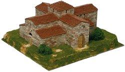 San Pedro church - Сглобяем модел от тухлички - макет