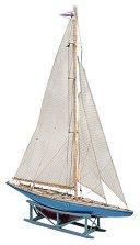 Ветроходна лодка - Endeavour II - Сглобяем модел от дърво -
