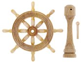 Щурвал - 4 cm - Резервна част за корабни модели и макети - макет