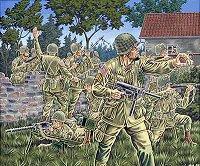 Войници от американската десантна войска - фигури