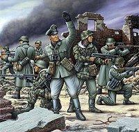 Войници от немската пехотна войска - фигури