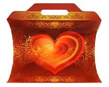 Сгъваема кутия за подарък - продукт