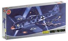 Изтребител - Focke Wulf Fw-190A - Сглобяем авиомодел -