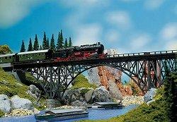 ЖП мост над река - Сглобяем модел -
