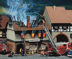 Изгорял ресторант - Сглобяем модел - макет