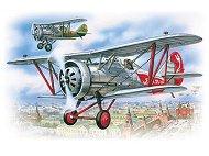 Военен самолет - И 5 - Сглобяем авиомодел -