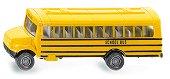"""Училищен автобус - Метална играчка от серията """"Super: Bus & Rail"""" -"""
