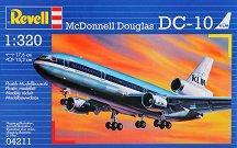 Пътнически самолет - MDD DC-10 - Сглобяем авиомодел - макет