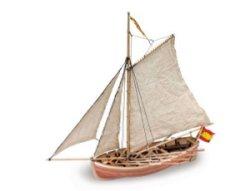 """Спасителна лодка от """"San Juan Nepomuceno"""" - Сглобяем модел от дърво - продукт"""