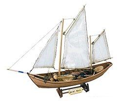 Ветроходна лодка - Saint Malo - Сглобяем модел от дърво - продукт