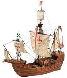 Карака - Santa Maria - Сглобяем модел от дърво - макет