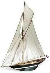 Ветроходна яхта - Pen Duick - Сглобяем модел от дърво - макет