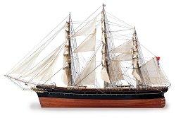 Клипер - Cutty Sark - Сглобяем модел на кораб от дърво -