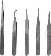 Комплект фини пинсети - Инструменти за сглобяване на модели и макети - макет