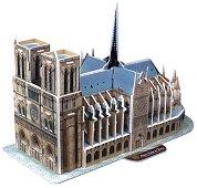 """Катедралата """"Нотр Дам"""" - 3D пъзел - пъзел"""