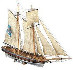 Шхуна - Marseille - Сглобяем модел от дърво -