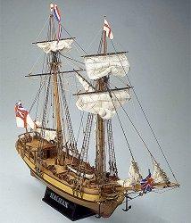Шхуна - Halifax - Сглобяем модел от дърво -