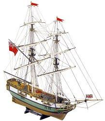 Бриг - Portsmouth - Сглобяем модел от дърво - макет