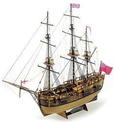 Барк - Endeavour - Сглобяем модел от дърво - макет