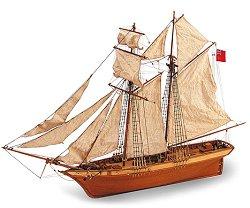 Шхуна - Scottish maid - Сглобяем модел на кораб от дърво - макет