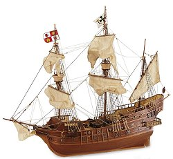 Галеон - San Juan - Сглобяем модел на кораб от дърво -