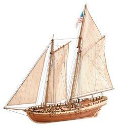 Шхуна - Virginia - Сглобяем модел на кораб от дърво -