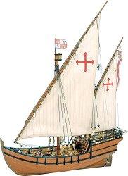 Каравела - La Nina - Сглобяем модел на кораб от дърво -