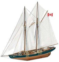 Шхуна - Bluenose II - Сглобяем модел на кораб от дърво -
