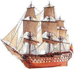 San Juan Nepomuceno - Сглобяем модел на кораб от дърво - макет